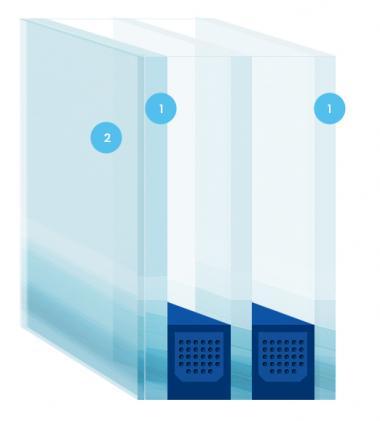 Bekannt Einsatz von VGS-Verglasungen in PVC-Fenstern | mrfenster24.de KT47